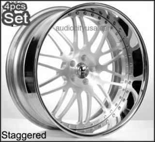 22inch AC Forged for BMW Wheels Rims 3pc Forged