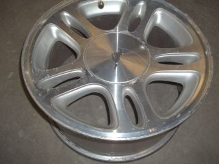 MUSTANG GT FACTORY 17X8 ALUMINUM 5 DOUBLE SPOKE WHEEL RIM & CENTER