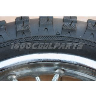 10 Front Rim Wheel Tire Honda XR50 CRF50 XR CRF 50 70cc 110cc Dirt