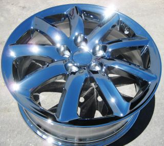YOUR STOCK OEM 4 NEW 18 FACTORY LEXUS LS460 LS460L CHROME WHEELS RIMS