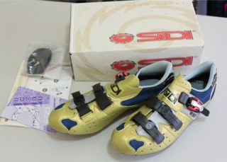 Sidi Shadow Road Cycling Shoes 46 EUR Golden Lorica New Old Stock 11 5