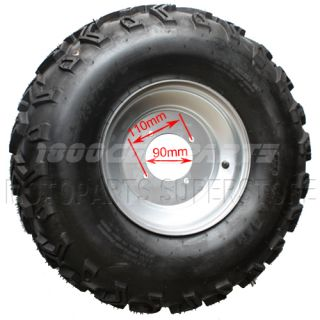 Right Front 23x7 10 Wheel Tire Rim ATV Quad Go Kart Buggy 250cc taotao