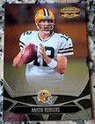 AARON RODGERS 2008 Donruss Gridiron Gear Superbowl XLV Champs Green