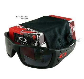NEW 2012 OAKLEY DUCATI FUEL CELL MATTE BLK / GREY POLARIZED OO9096 44