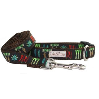Lola & Foxy Nylon Dog Leashes   Veggie Patch	   Leashes Nylon   Collars, Harnesses & Leashes