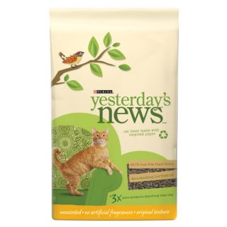 Dust Free Cat Litter � Purina� Yesterday's News� brand Original formula Unscented Cat Litter