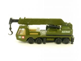 Matchbox Battle Kings K 113 Hercules Mobile Crane 1108 09 40