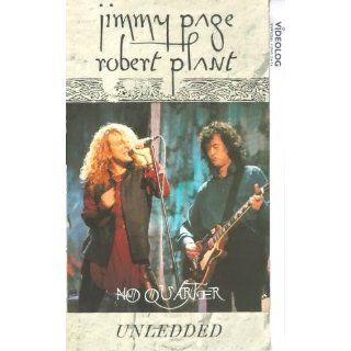 Jimmy Page/Robert Plant   No Quarter Unledded [VHS] Jimmy Page