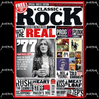 CLASSIC ROCK MAGAZINE 173 AUGUST 2012 The Real 1977 Led Zeppelin