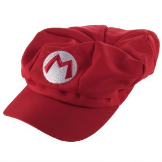 So cool colorful Luigi Super Mario Bros Anime Cosplay Adult Hat Cap