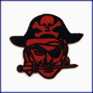 PATCH AUFBÜGLER AUFNÄHER PIRAT PIRATES OF THE CARIBBEAN JOLLY ROGER