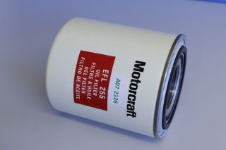 A07 2126, Genuine Motorcraft Oil Filter EFL 255 FORD CARGO