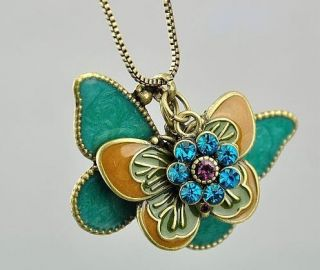 Gk4315 New Fashion Jewelry Womens Retro Butterfly Pendant Long