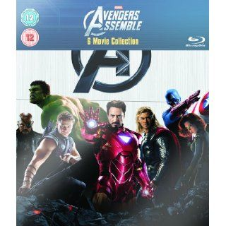 Marvel The Avengers Assemble Internation Blu ray UK Import