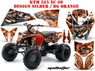 AMR DEKOR KIT KTM 450 505 525 SX XC MAD HATTER DECALS B