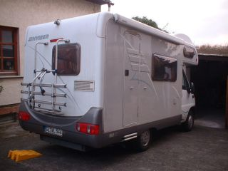 Hymer Wohnmobil Camp 544 K Alkoven