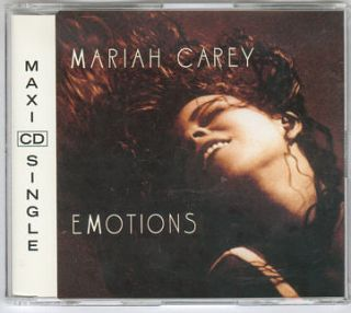 Mariah Carey   EMOTIONS [C&C CLUB REMIX] cd maxi (c) 1991