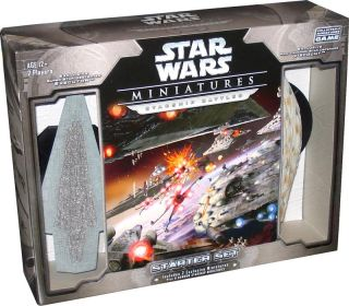 Star Wars Miniatures Starship Battles Starter Set
