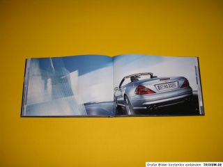 AMG MERCEDES BENZ BOOKLET MINT RAR PRINT09/0204