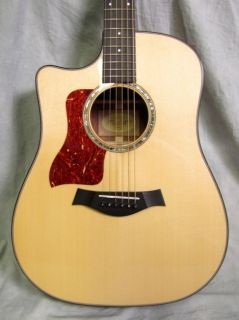 2011 Taylor 510CE Grand Auditorium Left Handed Lefty Acoustic Guitar