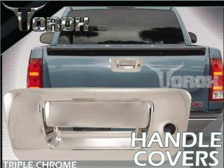 2007 2012 Chevy Silverado Chrome Tailgate Handle Cover With Keyhole
