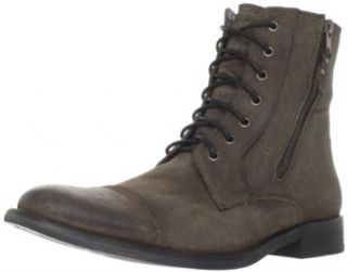 Kenneth Cole REACTION Mens Hit Men   Oiled Boot Shoes