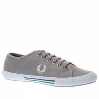 com Fred Perry Trainers Shoes Mens Vintage Tennis Canvas Grey Shoes