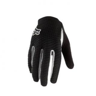 Fox Head Mens Attack Glove, Black/White, Large(10