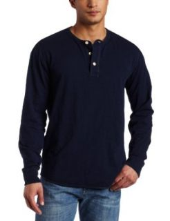 Lucky Brand Mens Henley  Navy Shirt, American Navy, Small