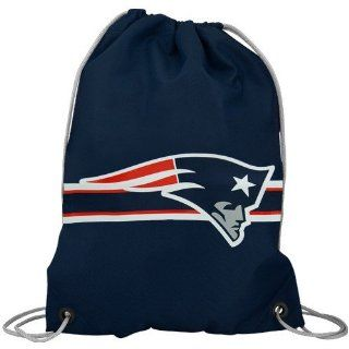 New England Patriots NFL Logo Drawstring Backpack Sports