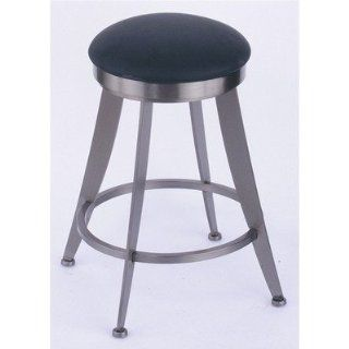 Laser 25 Swivel Counter Stool Metal Finish Stainless