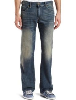 Levis Mens 527 Boot Cut Two Tone Zip Jean, Sunworship