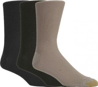 Gold Toe Mens Metropolitan Dress Sock, 3 Pack Clothing