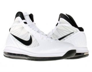 NIKE AIR MAX HYPERDUNK 2011 BASKETBALL SHOES 10 (WHITE/BLACK) Shoes