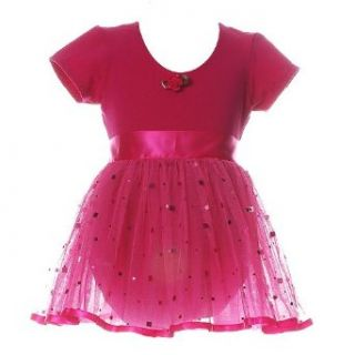 LIttle Girls Clothes Dance FUCHSIA Leotard Tutu Set 6