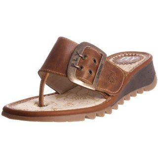 FLY London Womens Trin Flip Flop,Camel Rug,36 EU/5 M US Shoes