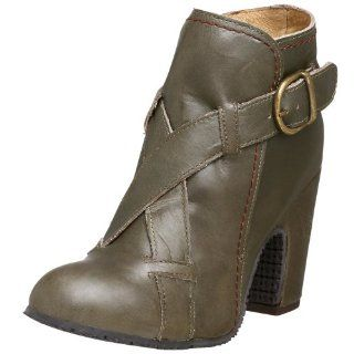 Fly London Womens Nood Ankle Boot,Grey,38 EU (US Womens 7 M) Shoes