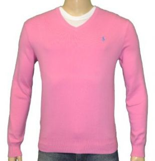 Polo Ralph Lauren Mens Pima Cotton V neck Sweater Medium