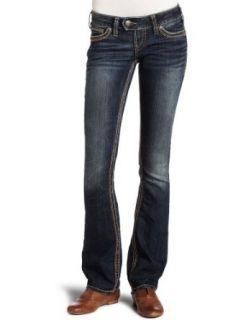 Silver Jeans Womens Tuesday 16.5 Baby Bootcut Jean