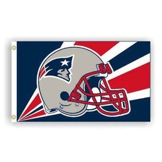 New England Patriots NFL 3Ft X 5Ft Helmet Design Flag