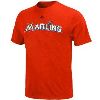 MLB Majestic Miami Marlins Youth Official Wordmark T Shirt