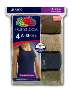 Fruit Of The Loom Mens 4 Pack Color A Shirt Clothing