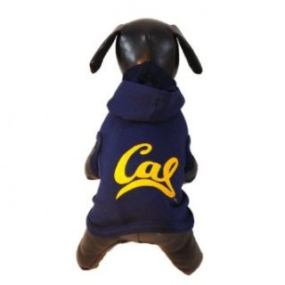 NCAA California Golden Bears Polar Fleece Hooded Dog
