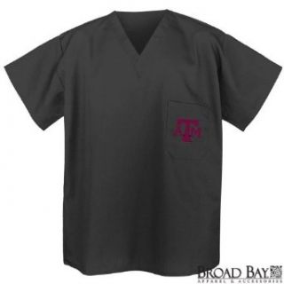 Texas A&M Scrubs Tops Shirts Aggies Logo For HIM or HER