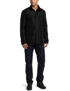 Kenneth Cole Reaction Mens Coated Ottoman CPO Jacket