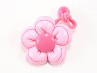 Leather Flower   Baby Girl & Toddler Hair Band / Ponytail