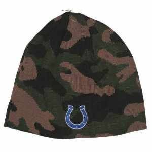 Indianapolis Colts Camouflage NFL Beanie Sports