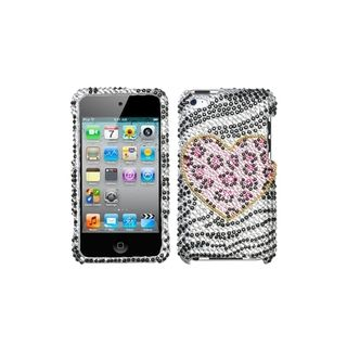 MYBAT Playful Leopard Diamond Case for Apple iPod Touch Generation 4