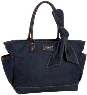 com Kate Spade Dungarees Small Coal Diaper Bag,Denim,one size Shoes
