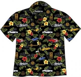 Ford Mustang Shelby GT350 GT500 Cars Camp Hawaiian Shirt